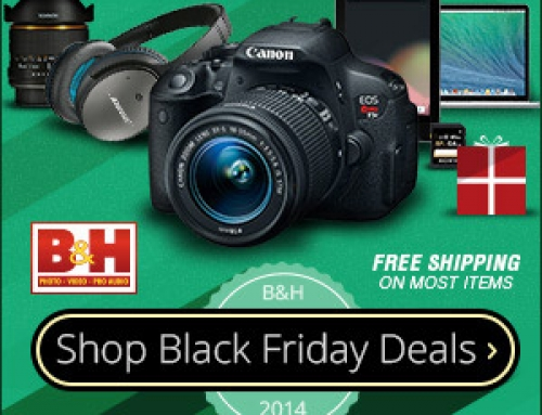 Black Friday has started at B&H, check out their deals!